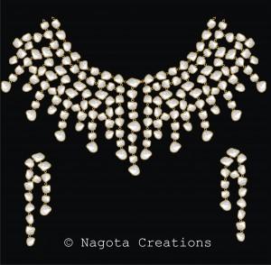 Gorgeous Kundan Meena Necklace to Enhance Bridal Beauty More