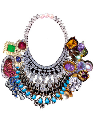 Statement Necklace from Tom Binn's