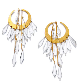 Chandelier-Style Earrings by Herve Van der Straeten