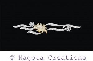 Diamond Bracelet Inspiered by Flow of Water