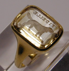 Intaglio - Carved Ring