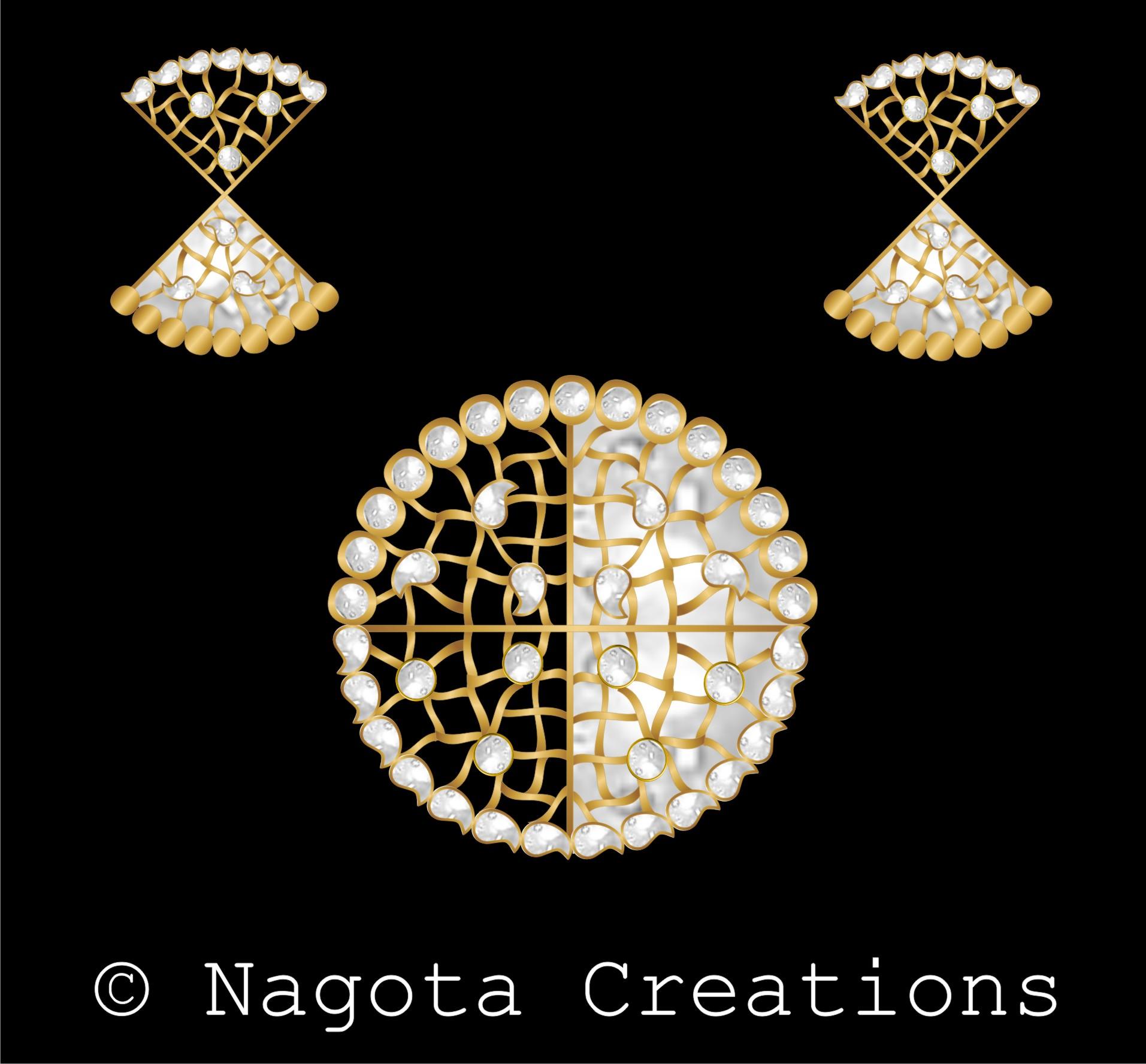 Bright luxuriant kundan meena pendant set with diamond polki bright luxuriant kundan meena pendant set with diamond polki aloadofball Choice Image