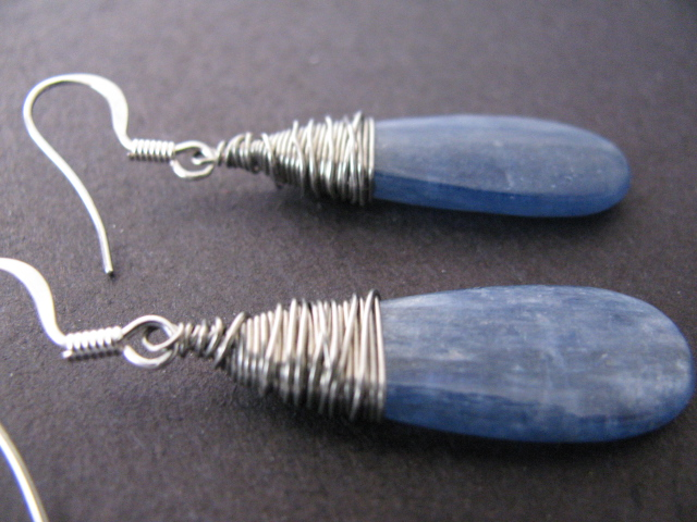 Shimmering Slate Earrings