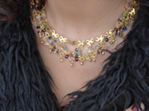 Muti coloured necklace