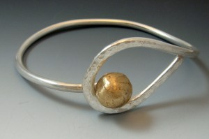sweet spot - sterling silver bangle