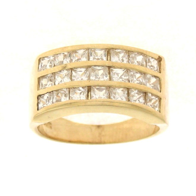 Code - LA 26: Dazzling & Divine Looking Ladies Cubic Zirconia Band