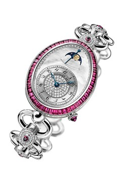 Breguet's exclusive ruby-set watch for Harrods; £99,000.