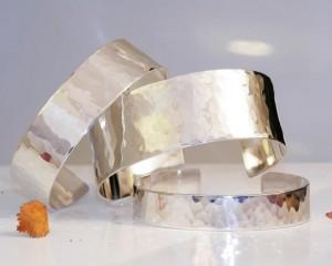 Silver Bangles by Guldsmed Jens Dam