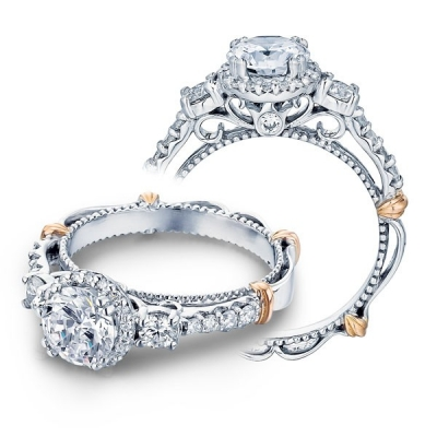 Verragio Parisian 122R Engagement Ring by Miro Jewelers