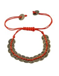 Chinese Ancient Coins Feng Shui Coin Bracelet